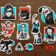 set-stickers-erre